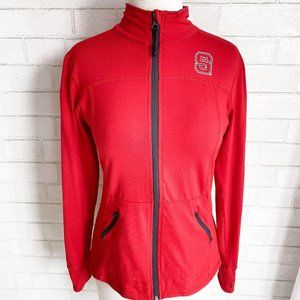 NC State Wolfpack Red Zip Up Jacket Small
